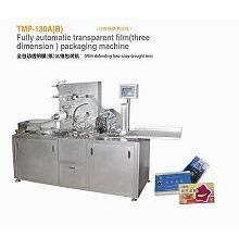药盒包装机,透明膜三维包装机