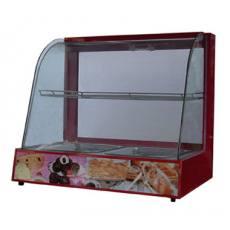 弧型玻璃食品保温柜