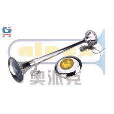 单杆低音电控气喇叭(带灯)