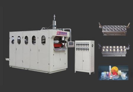高速塑料气压(液压)热成型机图片