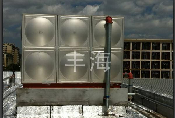 厂房屋顶18吨消防水箱