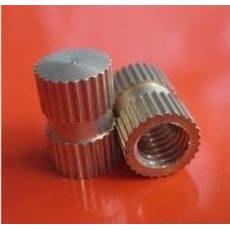 铜镶件/塑料注塑母/滚花螺母/铜嵌件
