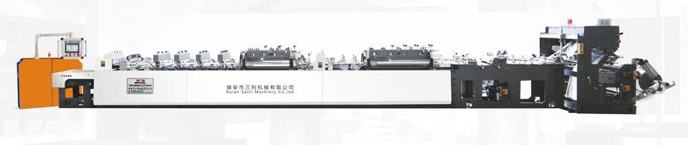SLZD-D600 高速(三伺服)三边封/双自立/双拉链制袋