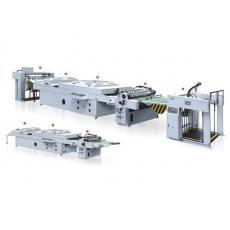 齐发娱乐官方网站_RRY-1000/1200A型UV厚薄纸三辊单机头全自动全面上光机
