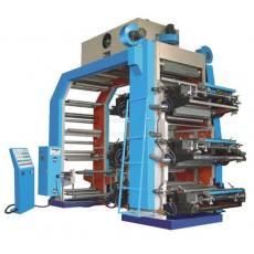 六色薄膜中高速柔性印刷机