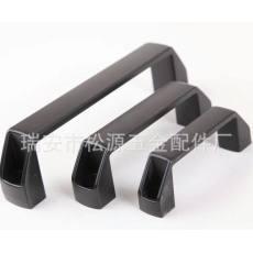 方形铝拉手 黑色方形铝拉手 铝合金拉手