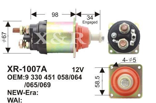 起动机的电磁开关为什么要设置吸引和保持两个线圈图片