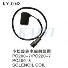 齐发娱乐官方网站_供应PC200-7小松旋钮电磁阀线圈
