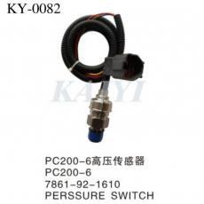 供应KY-0082小松挖机挖掘机压力传感器 小松PC200-6高压传感器