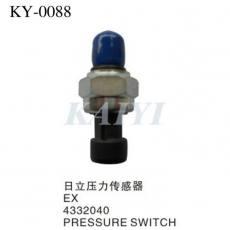 供应KY-87日立挖机配件 日立EX4332040挖土机压力传感器