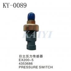 供应KY-0089日立挖土机配件 EX200-5日立压力传感器