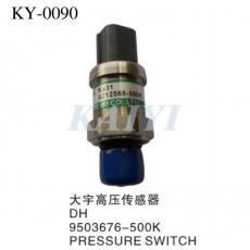 供应KY-0090大宇挖土机配件 DH9503676-500K大宇高压传感器