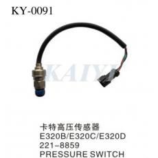 供应KY-0091卡特挖土机配件 E320B/320C/320D卡特高压传感器