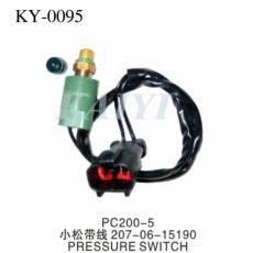 供应KY-0095小松挖土机配件 PC200-5小松带线压力传感器