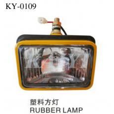 供应KY-0109挖掘机配件 挖掘机塑料方灯