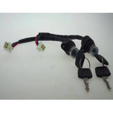 电动三轮车锁芯 电动车电源车门锁 电动三轮车配件