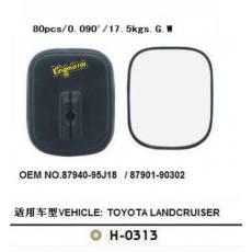 TOYOTA H-0313丰田车镜