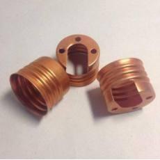 E27 E26 铝制陶瓷灯座螺口 灯圈 灯头 紫红色 可定制