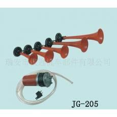 供应五管气喇叭 带电机,红色