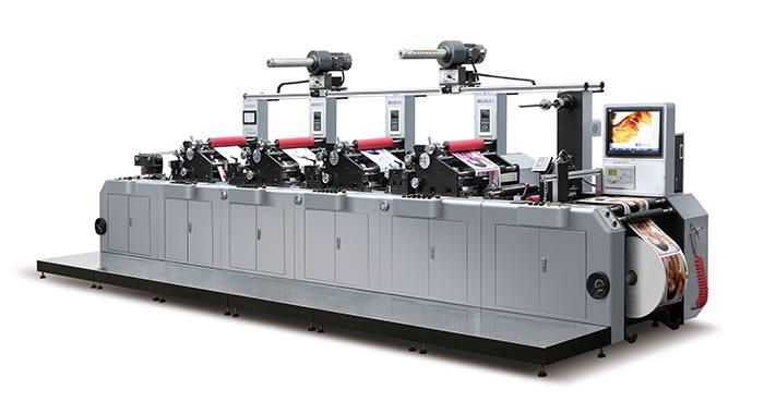 轮转印刷机_dnlry320 轮转式柔性版印刷机