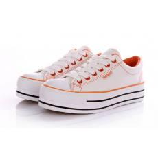夏季新品韩版潮 厚底松糕鞋 低帮布鞋子休闲鞋 女鞋帆布鞋女
