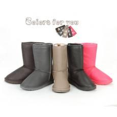 冬季女士棉靴 加厚中筒雪地靴棉鞋659