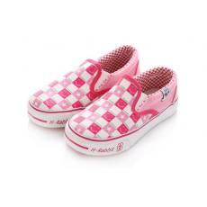 开心兔正品童鞋 夏季经典男童鞋 女童帆布鞋 低帮套脚布鞋