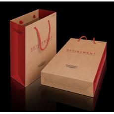 厂家直销印刷订做批发白卡手提纸袋子/礼品袋/广告袋/牛皮纸袋