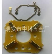 供应电动机配件 导电片电动机配件 连接片电动机配件