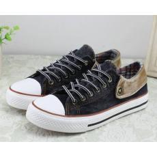 批发瑞安库存新款硫化鞋水洗牛仔帆布鞋