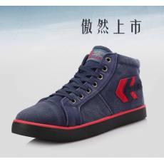 2014秋季新款男士休闲韩版帆布鞋