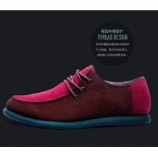 2014秋款男士韩版英伦休闲男鞋透气平底驾车鞋