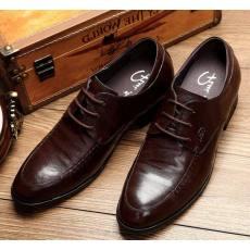 2014秋款内增高羊皮男鞋男式增高鞋商务皮鞋