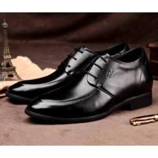 透气男士内增高皮鞋6厘米6cm隐形韩版增高鞋