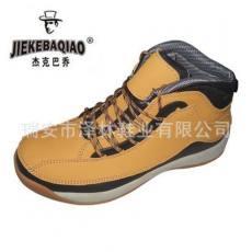 厂家直销 EVA+橡胶底冷粘安全鞋 劳保鞋防砸防穿刺 来样贴牌订做