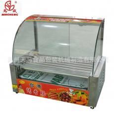 豪华型热狗机香肠机厂家直销烤肠机7管分开控制节能烤香肠机
