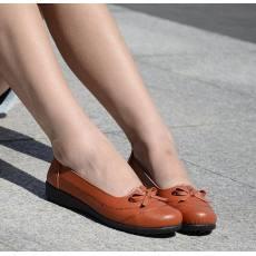 赛鹏 蝴蝶结平底女鞋