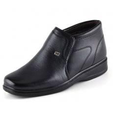 新款高帮厚底保暖老人男士棉鞋