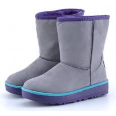 秋冬新款女鞋 经典加厚保暖女短靴 时尚磨砂面女式雪地靴