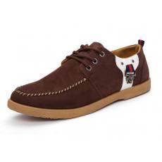 时尚休闲学生鞋英伦款男鞋休闲男鞋潮男帆布鞋