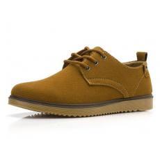 真皮运动板鞋时尚潮流单鞋子登山D69