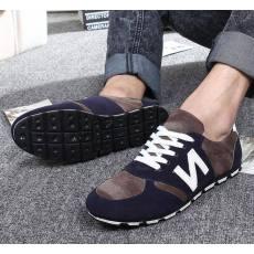 厂家直销夏季新款韩国N字母休闲男鞋
