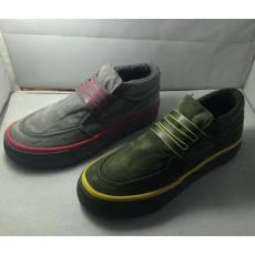 零售价168元易帝正品Y532女士帆布鞋 秋款牛筋厚底中帮水洗面料