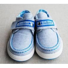 齐发娱乐_蜡比小星 婴儿鞋 品牌帆布宝宝鞋低帮学步鞋 BB071