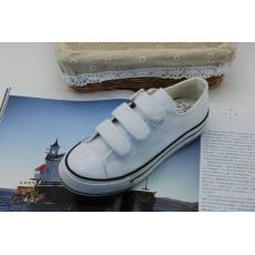 韩版基本款松糕帆布鞋 女