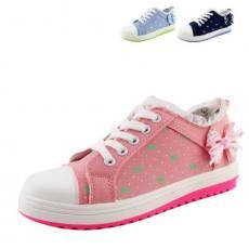 新款春夏 透气小清新帆布鞋潮女学生鞋子低帮帆布鞋休闲鞋