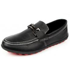 流行男鞋 豆豆鞋男鞋英伦商务风格开车必选舒适大气