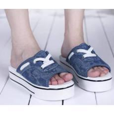 厂家批发库存处理鞋帆布拖鞋