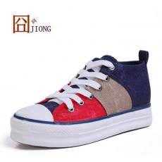 糖果色韩版女鞋板鞋