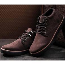 2014新款高帮帆布鞋男士韩版英伦水洗布鞋